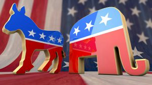 Two major political parties in the US